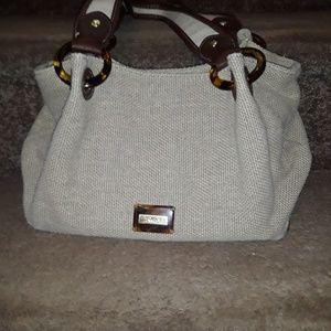 Relic Bags - Relic tan woven purse.